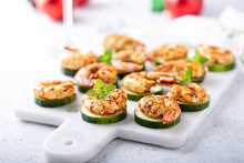 Spicy Shrimp And Cucumber, New...