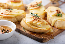 Pear And Brie Crostini With Ho...