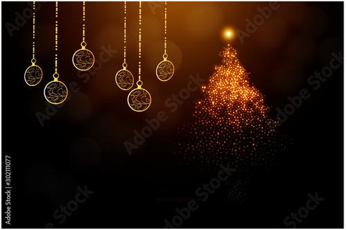 Fotografie, Tablou  크리스마스 카드