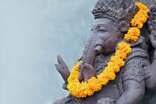 Ganesha Sitting In Meditating ...