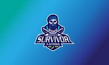 Logo Survivor 3 Strike Vector