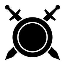 Swords / Blades Crossed Sheath...