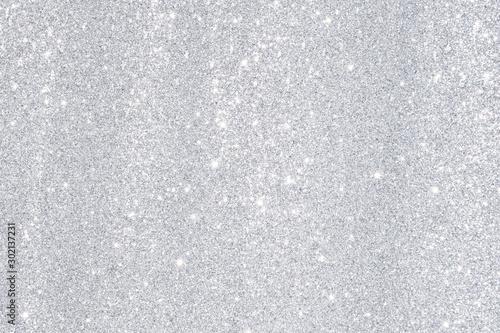 Fototapeta silver bokeh light background