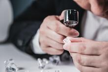 Businessman Jeweler During The...