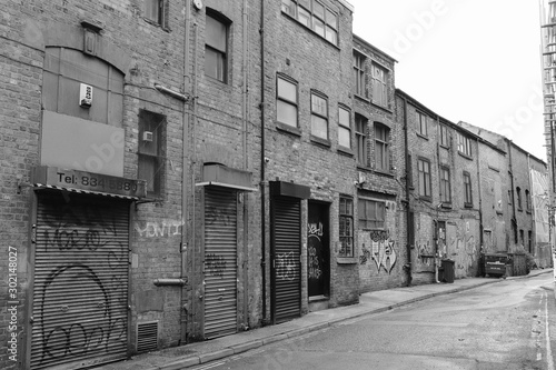 Back Street of Northern Quarter, Manchester
