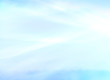 canvas print picture - Light blue winter background