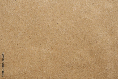 Old brown eco recycled kraft paper texture cardboard background Fotobehang