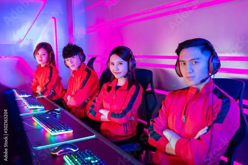 Fototapety, obrazy: pro cyber sport gamers team