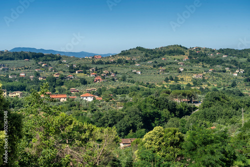 Photo Panoramic view from Arpino, Italy