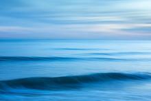 Abstract Minimalist Blue Seasc...