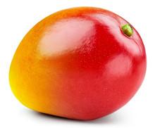 Mango Isolated On White Backgr...