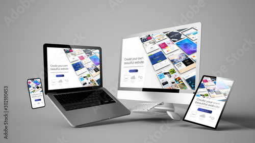 Cuadros en Lienzo  floating devices cms responsive