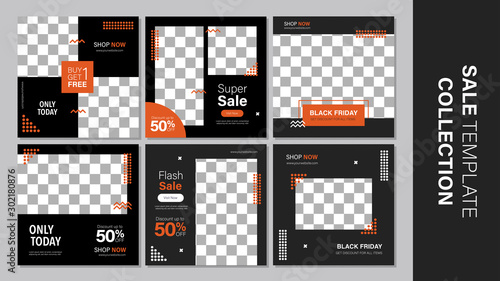 Tela  Sale template collection for promotion sale