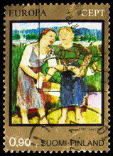 Postage Stamp Printed In Finla...