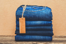 Collection Of Blue Jeans With ...