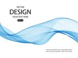 Background with blue wave for website, flyers, brochures, presentations.