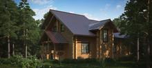 Cottage Beamed. Wooden.