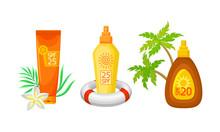 Sunscreen Lotion, Oil And Crea...