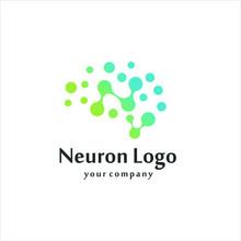 Brain Logo / Neuron Nerve Or Seaweed Logo Design Inspiration