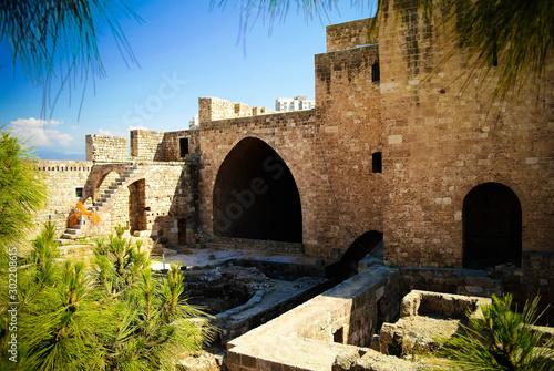 Panorama of Citadel of Raymond de Saint-Gilles , Tripoli, Lebanon