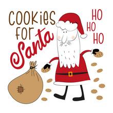 Cookies For Santa - Funny Cris...