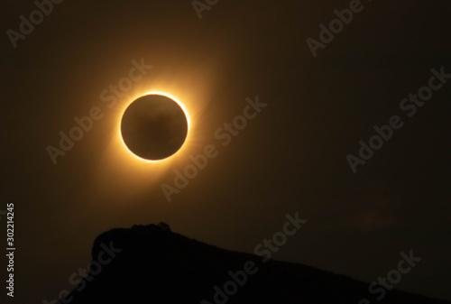 Obraz na plátně  eclipse de sol