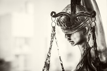 Statue Of Justice. Lady Justice