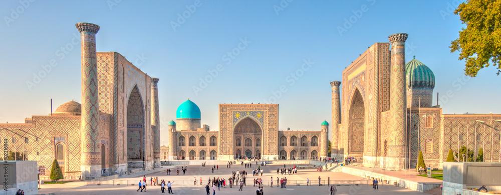 Fototapeta Samarkand, Registan