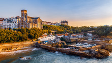 Panoramic View Of Biarritz Cit...