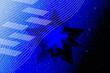 canvas print picture - abstract, blue, pattern, design, light, wallpaper, technology, illustration, texture, digital, curve, line, lines, motion, backdrop, tunnel, data, art, shape, internet, computer, futuristic, graphic