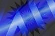 canvas print picture - abstract, space, light, blue, earth, night, sky, planet, globe, galaxy, star, stars, world, universe, illustration, sun, design, cosmos, art, astronomy, nebula, wallpaper, dark, black, graphic
