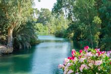 Jordan River In Yardenit Baptismal Site (Kvutzat Kinneret, Galilee, Israel)