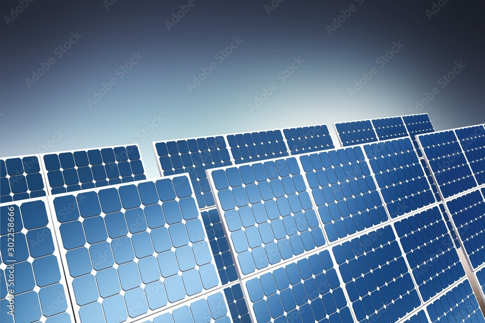 Fototapeta Solar panel.