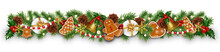 Christmas Border Decorations G...