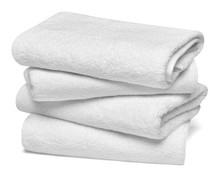 Towel Cotton Bathroom White Sp...