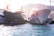 Super Yachts Moored In Monaco ...