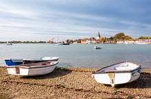 Bosham, A Small Picturesque Village On One Of The Small Inlets Of Chichester Harbour, West Sussex, England