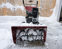 Snowblower Is Packed With Wet ...