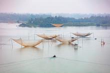 Square Fishing Nets (carrelets...