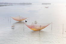 Square Fishing Nets (carrelets...