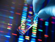 Genetic Medicine, A Vial Conta...
