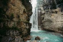 Upper Waterfall Of Johnston Ca...