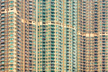 Apartment Block Towers In Tseung Kwan O, Hong Kong