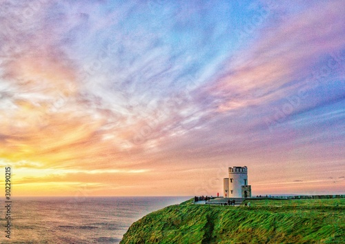 Fotografía lighthouse at sunset