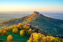 Burg Hohenzollern Castle At Su...