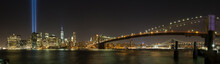 New York City Skyline And 9/11...