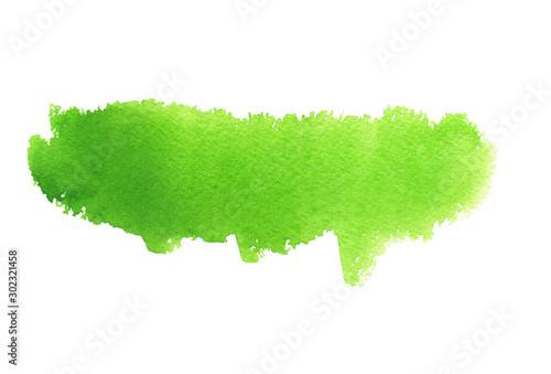 Obraz Bright green abstract smear - fototapety do salonu