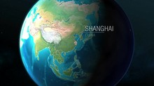 China - Shanghai - Zooming Fro...