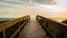Bridge To The Sea In Cocoa Bea...