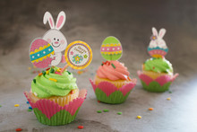 Sping Easter Cupcakes